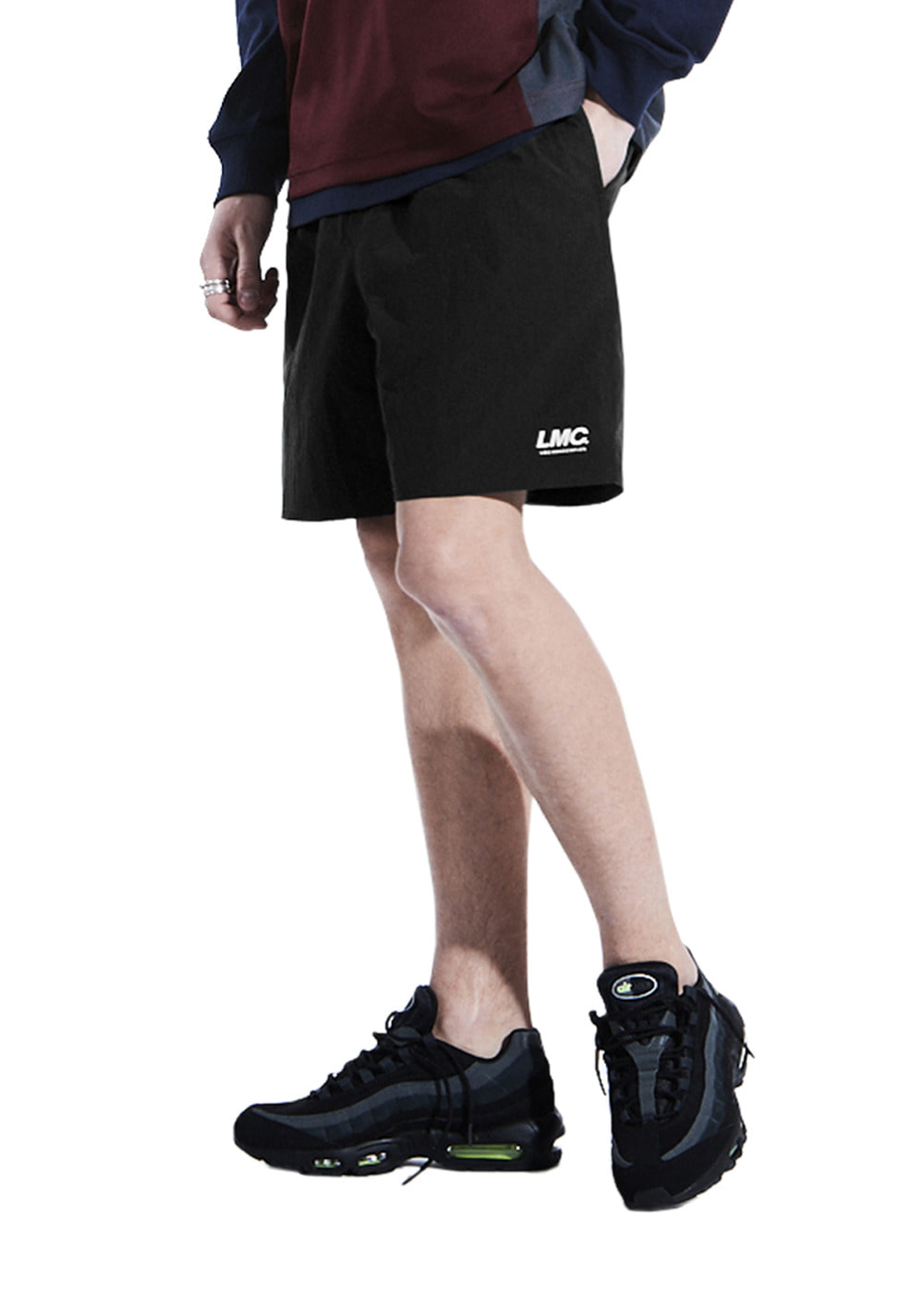 LMC ASSOCIATION TEAM SHORTS black