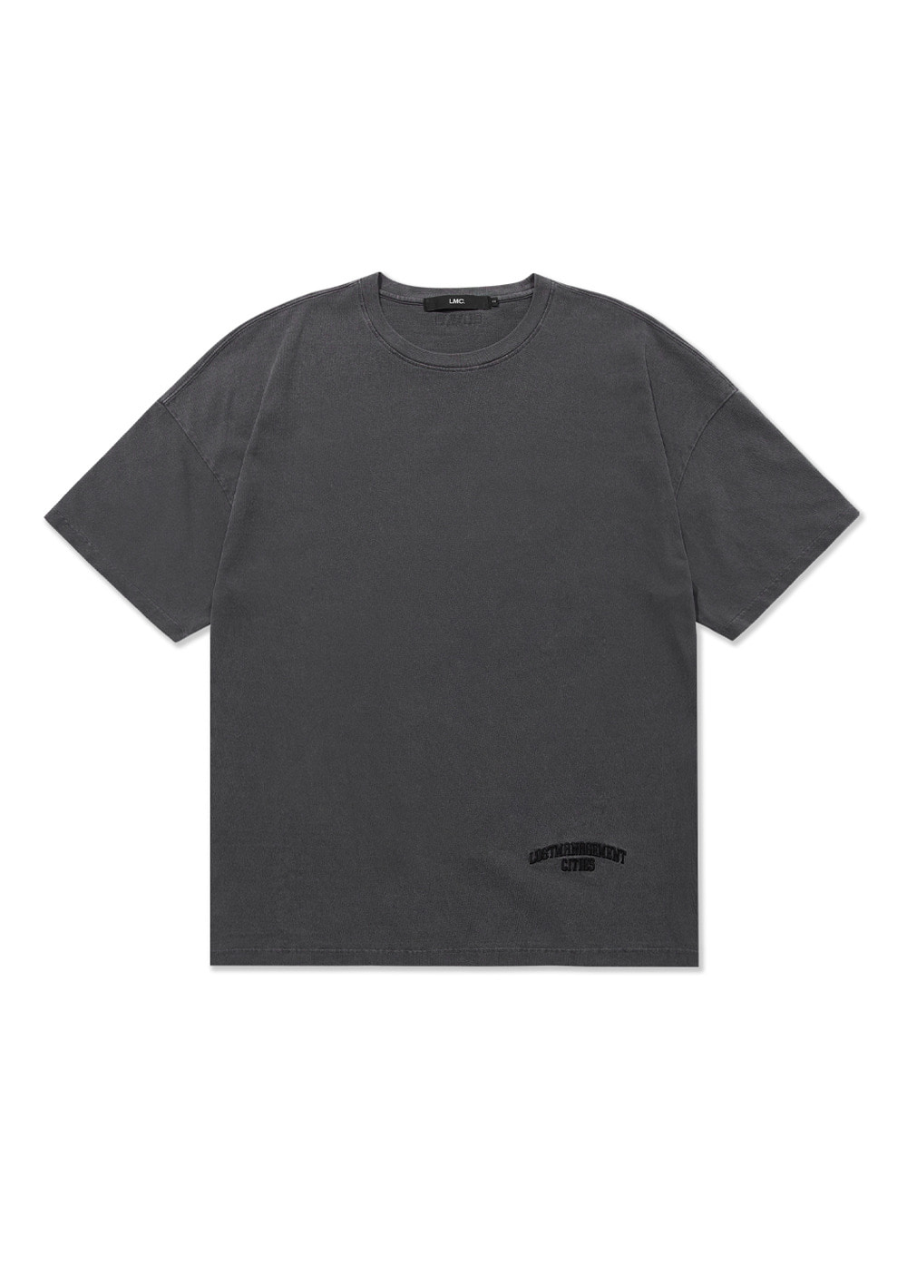 LMC OVERDYED ARCH FN OVERSIZED TEE black