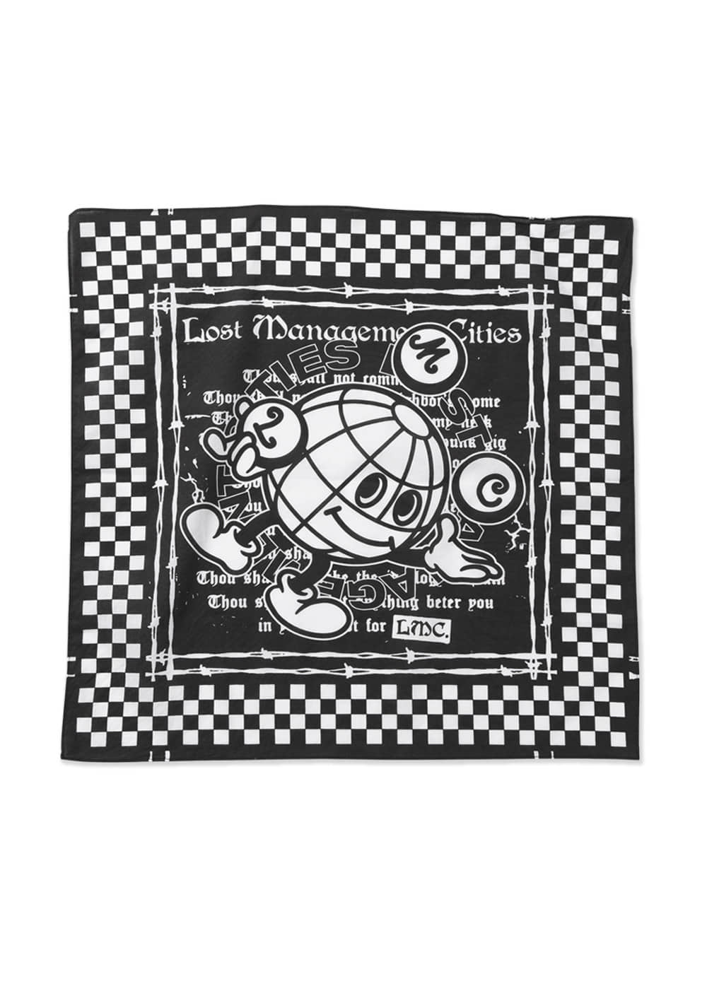 LMC EARTH MAN BANDANA Black