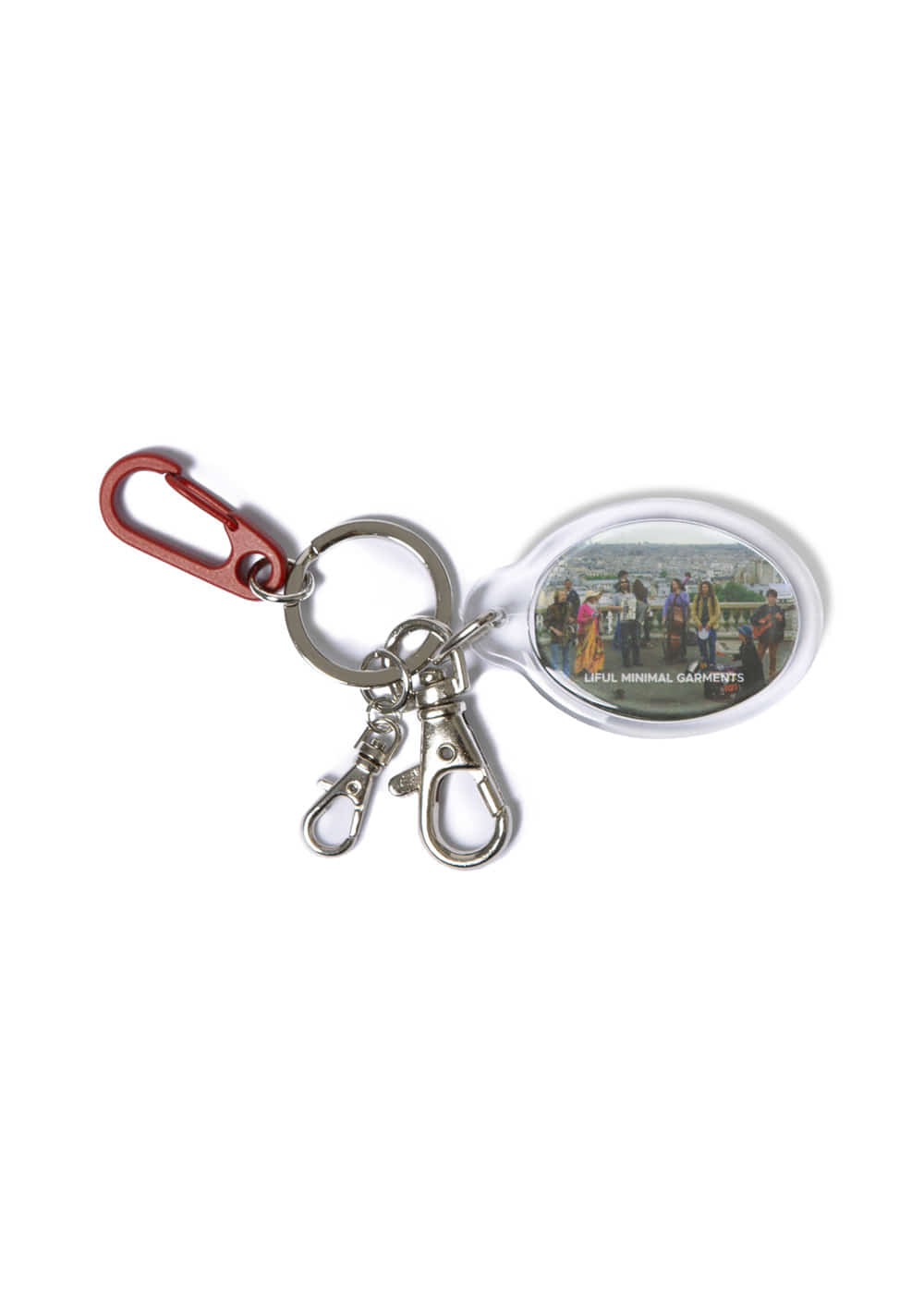 BUSKING KEYRING red