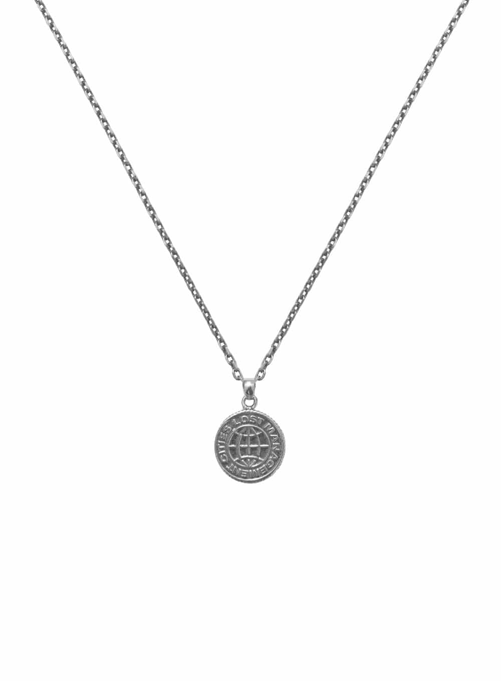 LMC COIN SILVER NECKLACE