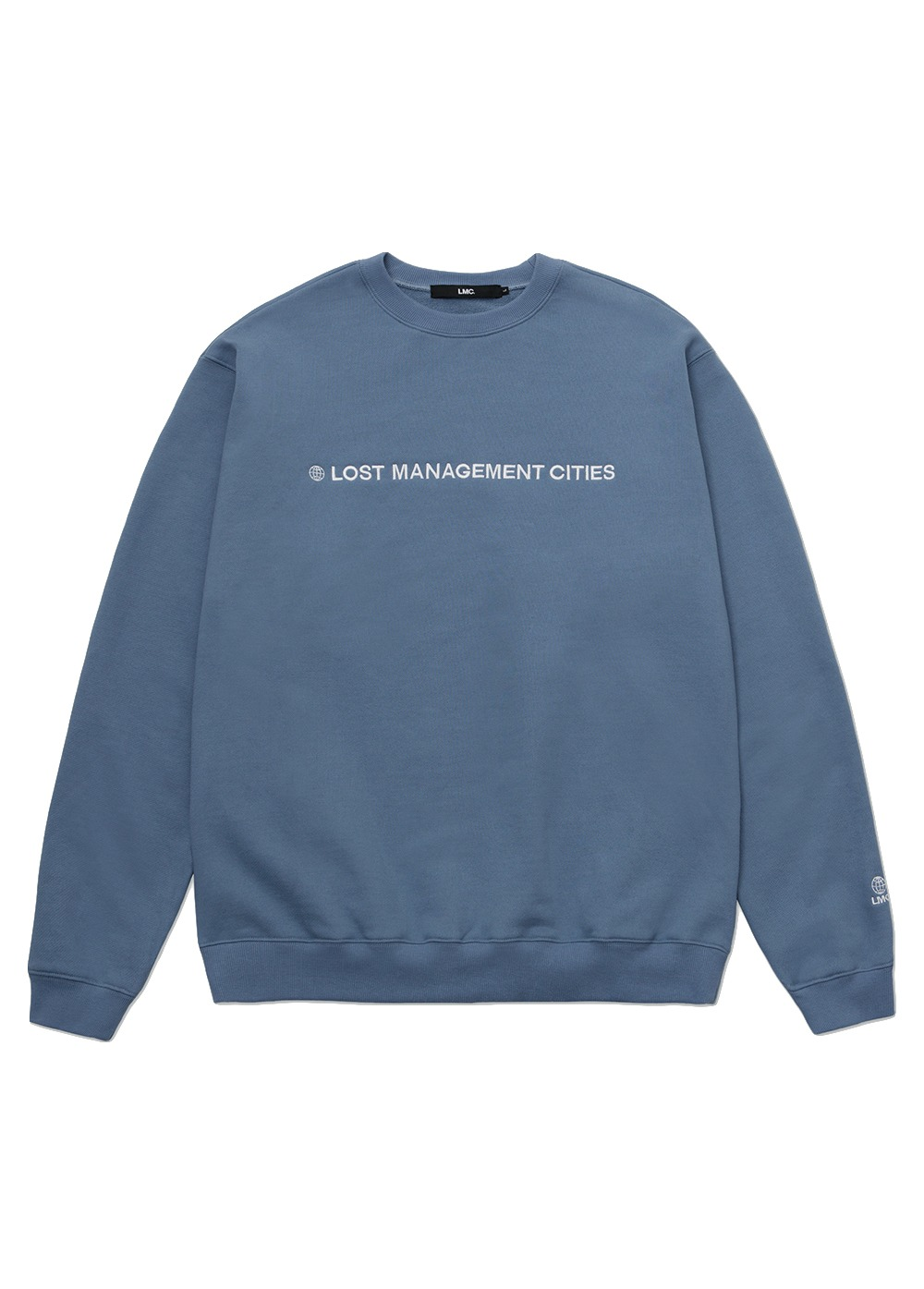 LMC CAPITAL LOGO SWEATSHIRT blue