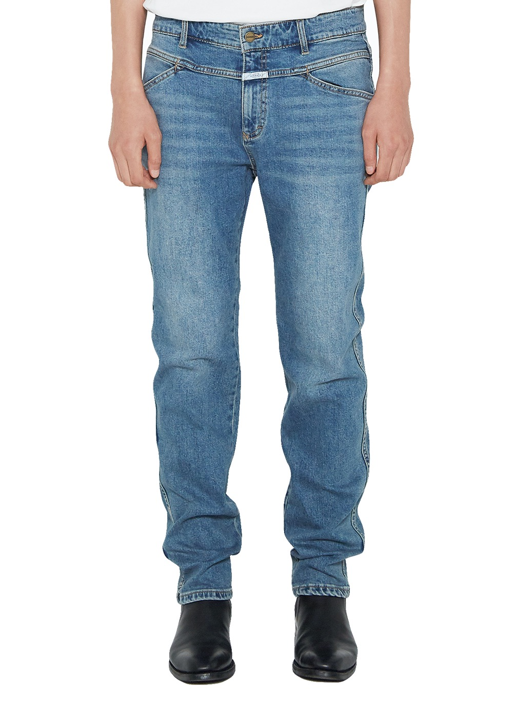 MARITHE SLIM STRAIGHT X-JEANS (MEN) stone blue