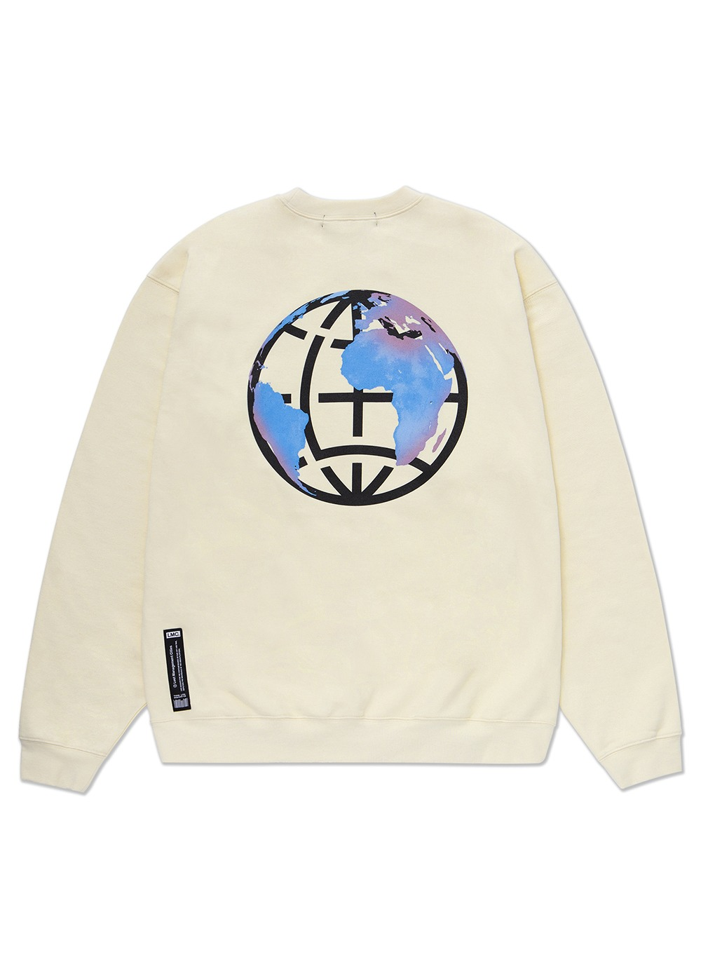 LMC EARTH LOGO SWEATSHIRT cream