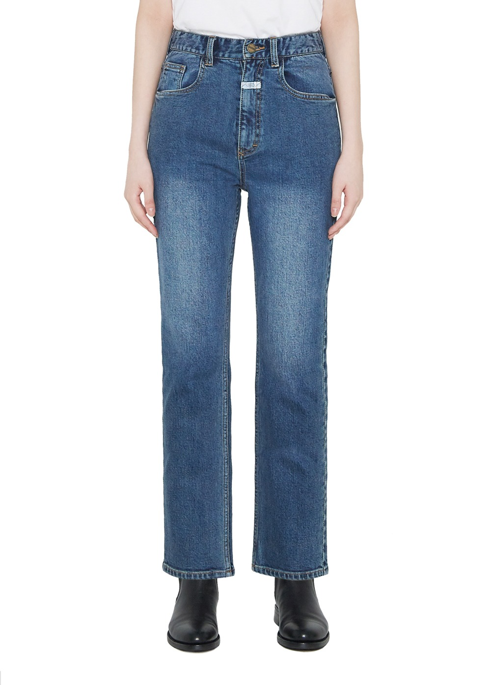 MARITHE W STANDARD JEANS mid blue