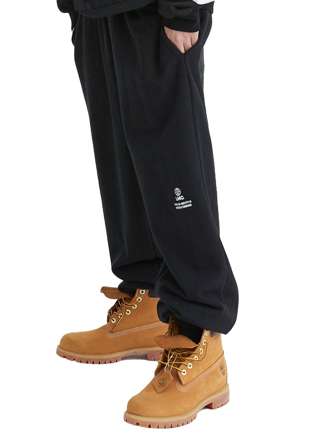 LMC SIGNATURE GLOBE SWEAT PANTS black