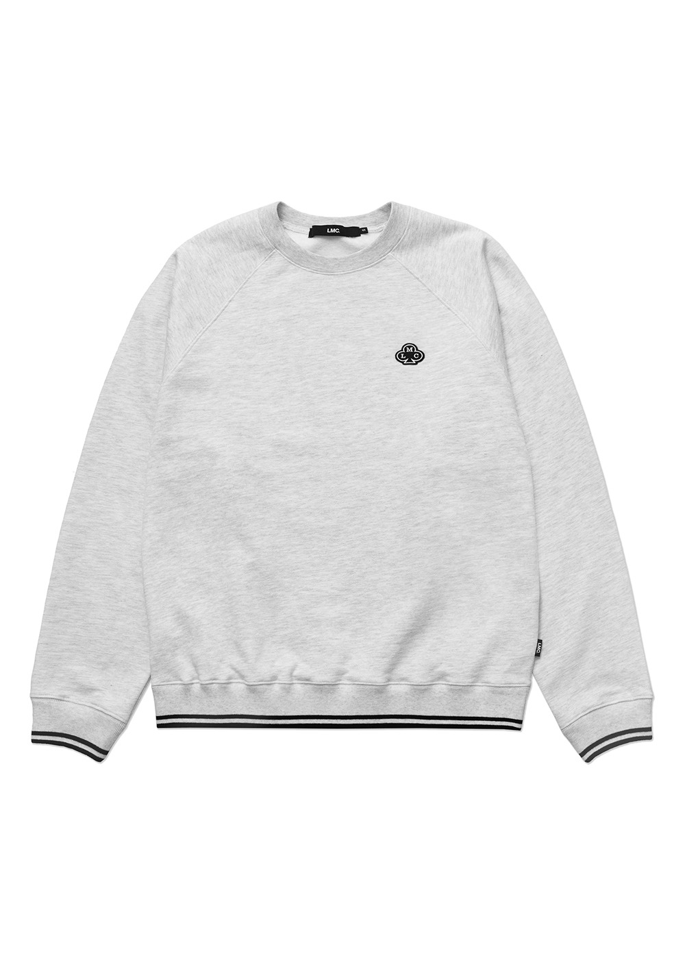 LMC CLUB BASIC RAGLAN SWEATSHIRT lt. heather gray