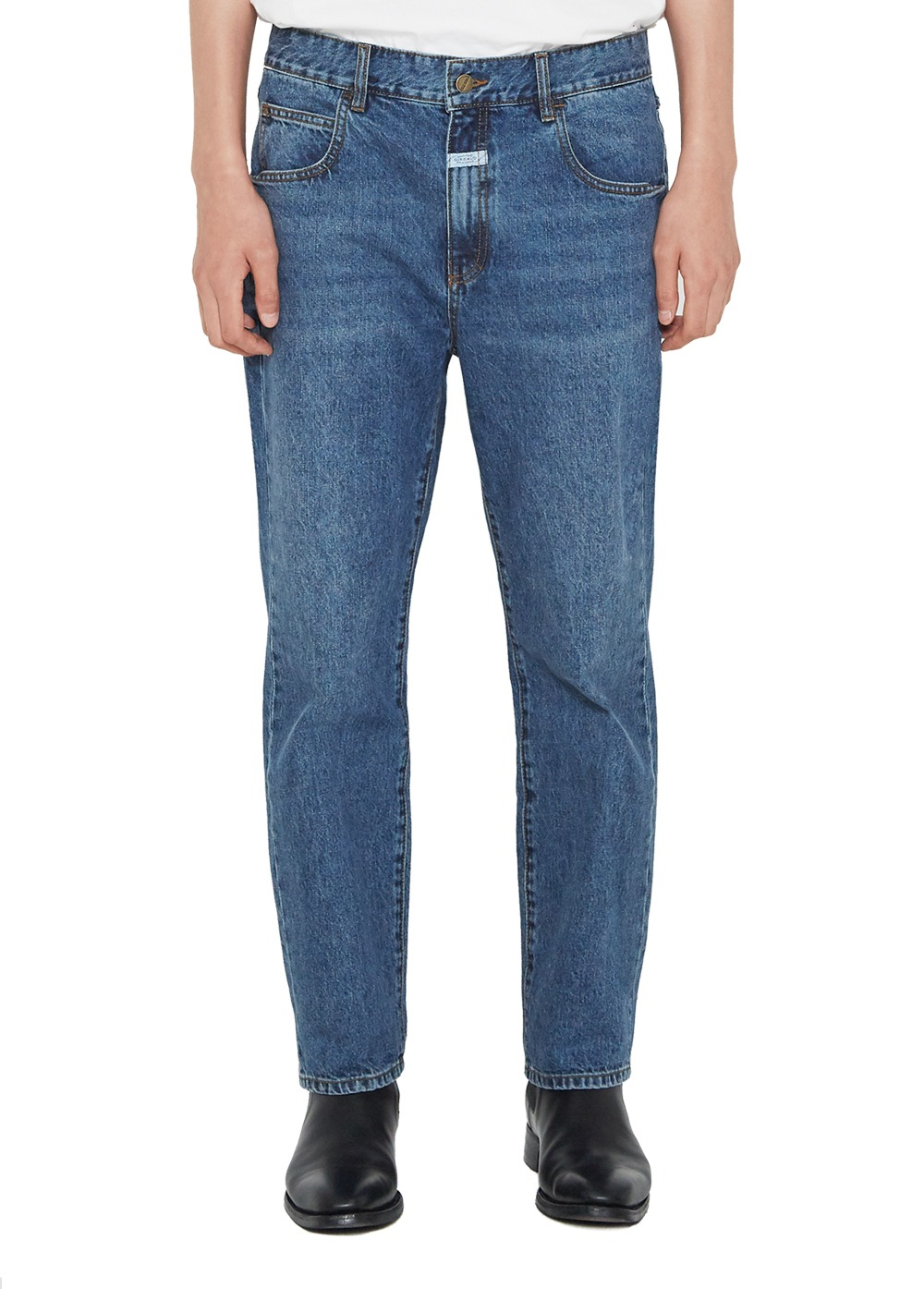 MARITHE STANDARD JEANS stone blue