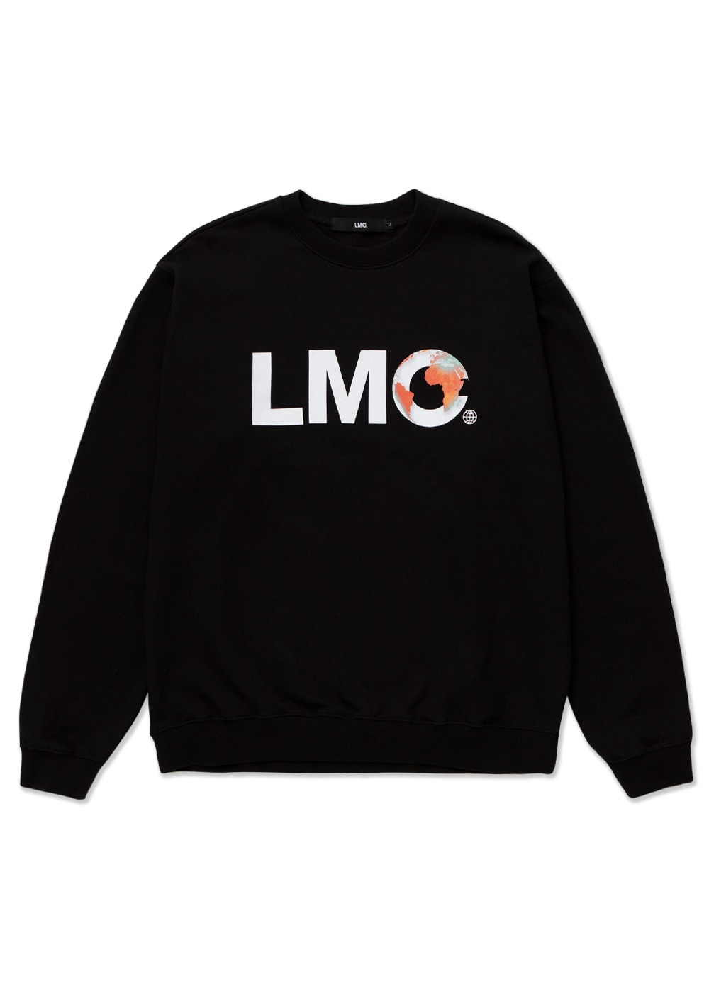 LMC EARTH LOGO SWEATSHIRT black