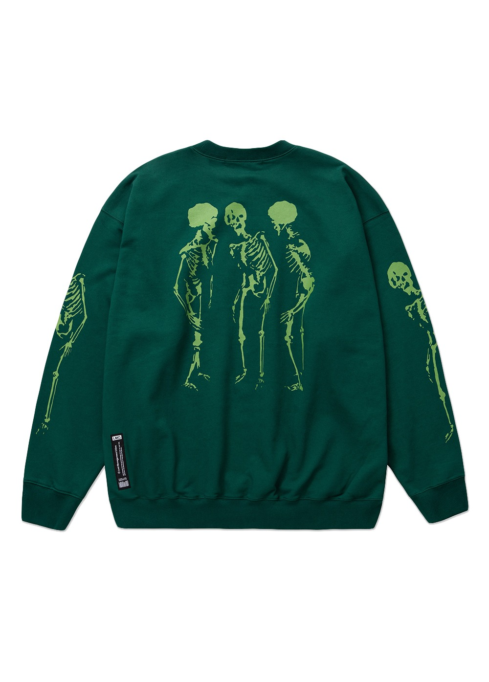 LMC BIOHAZARD OVERSIZED SWEATSHIRT green
