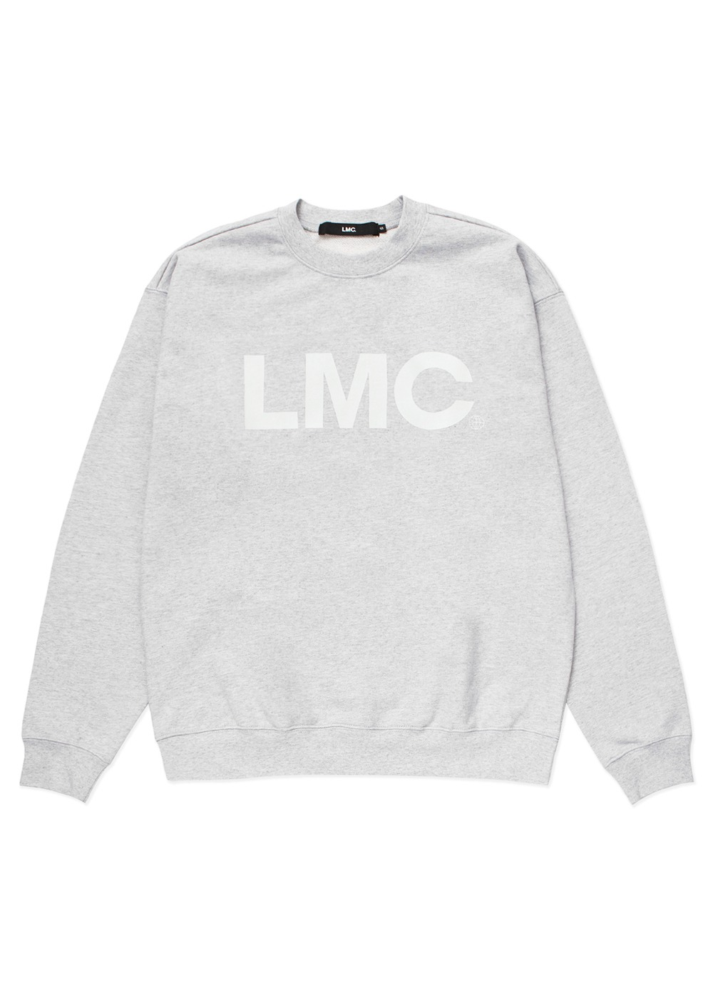 LMC OG WHEEL SWEATSHIRT heather gray