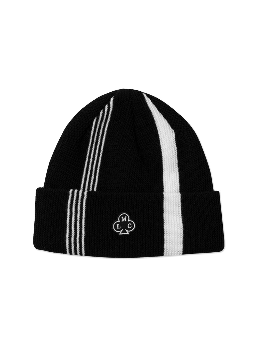 LMC CLUB RACING STRIPES BEANIE black