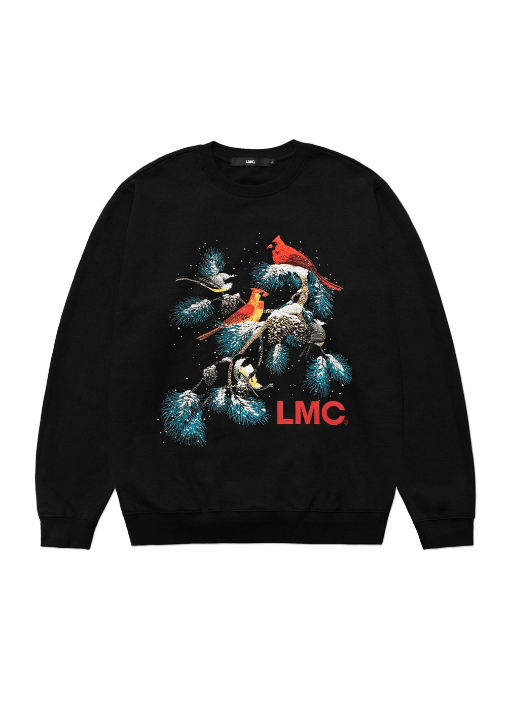 LMC CHRISTMAS OVERSIZED SWEATSHIRT black