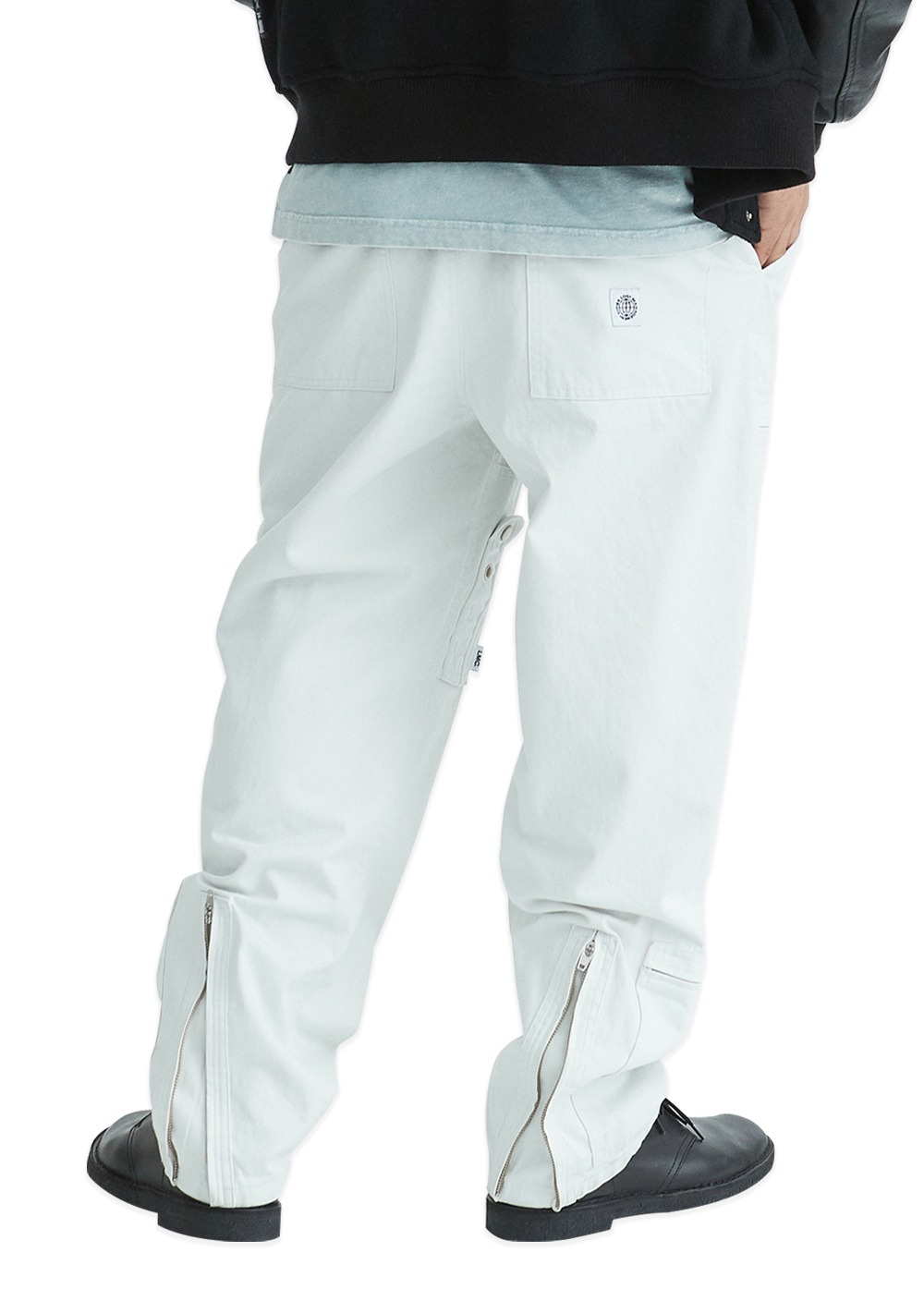 LMC BDG FLIGHT PANTS white