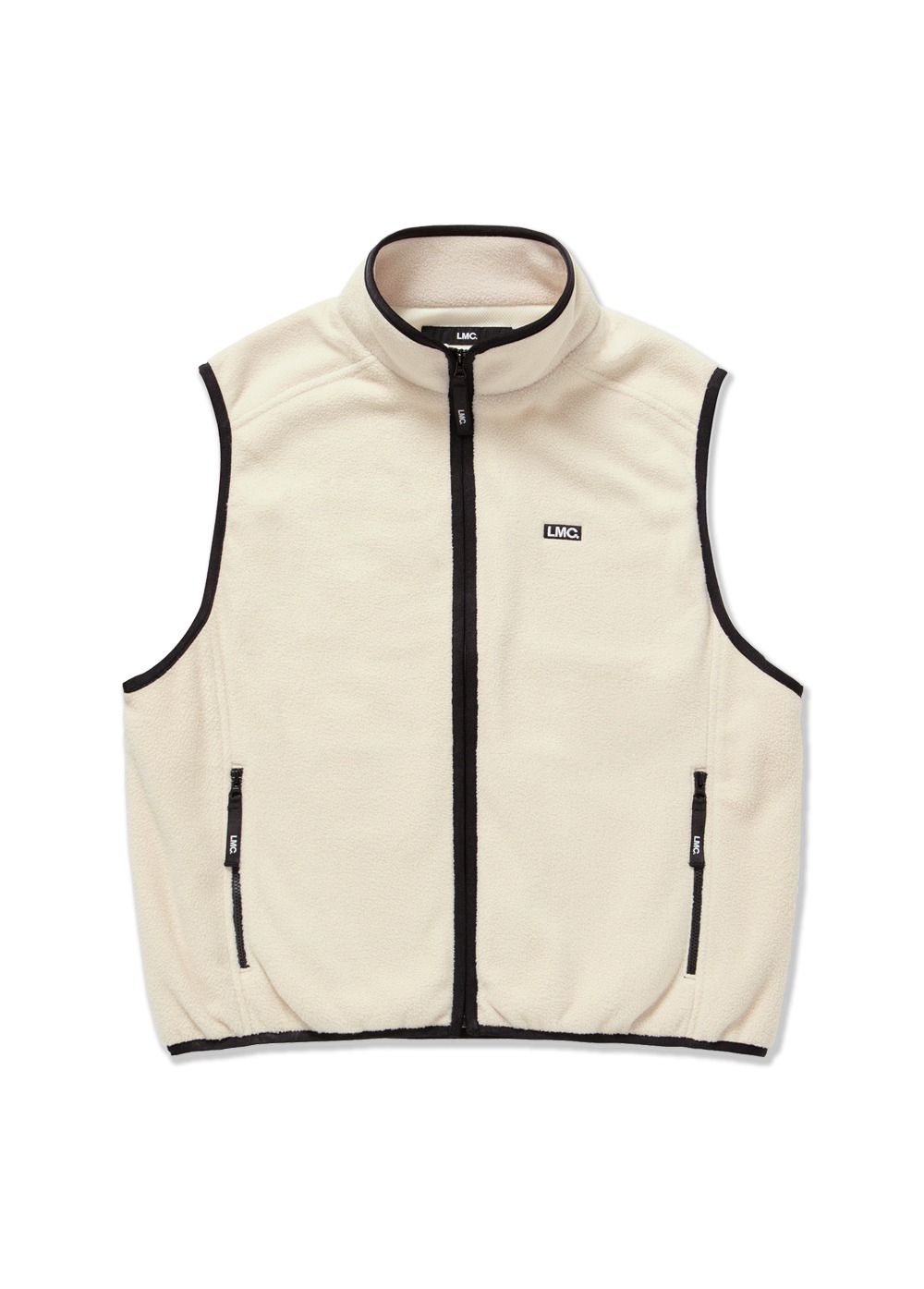 LMC POLAR FLEECE VEST beige