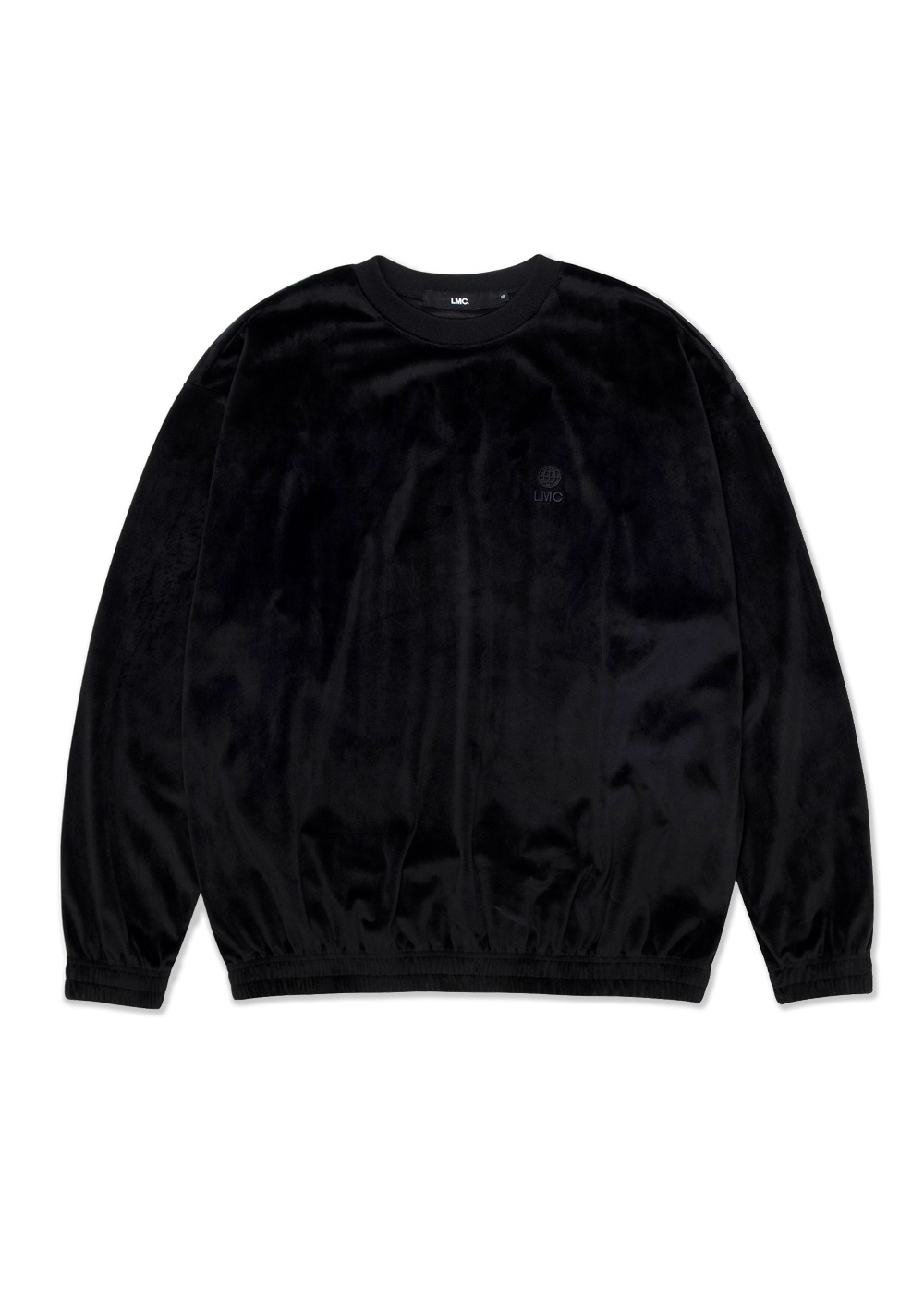 LMC VELOUR OVERSIZED SWEATSHIRT black
