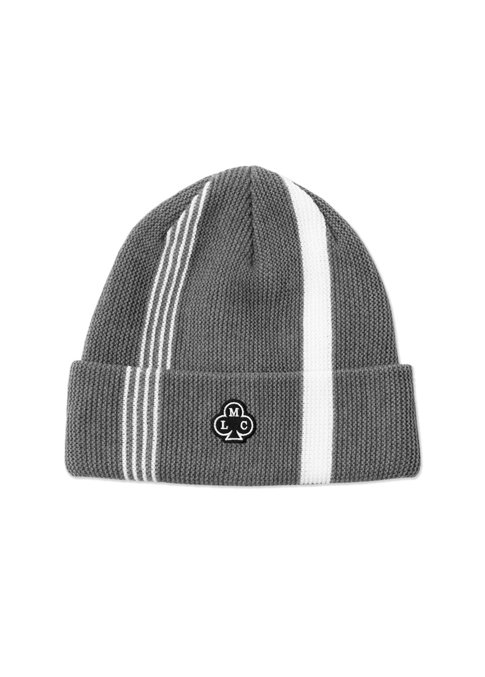 LMC CLUB RACING STRIPES BEANIE gray