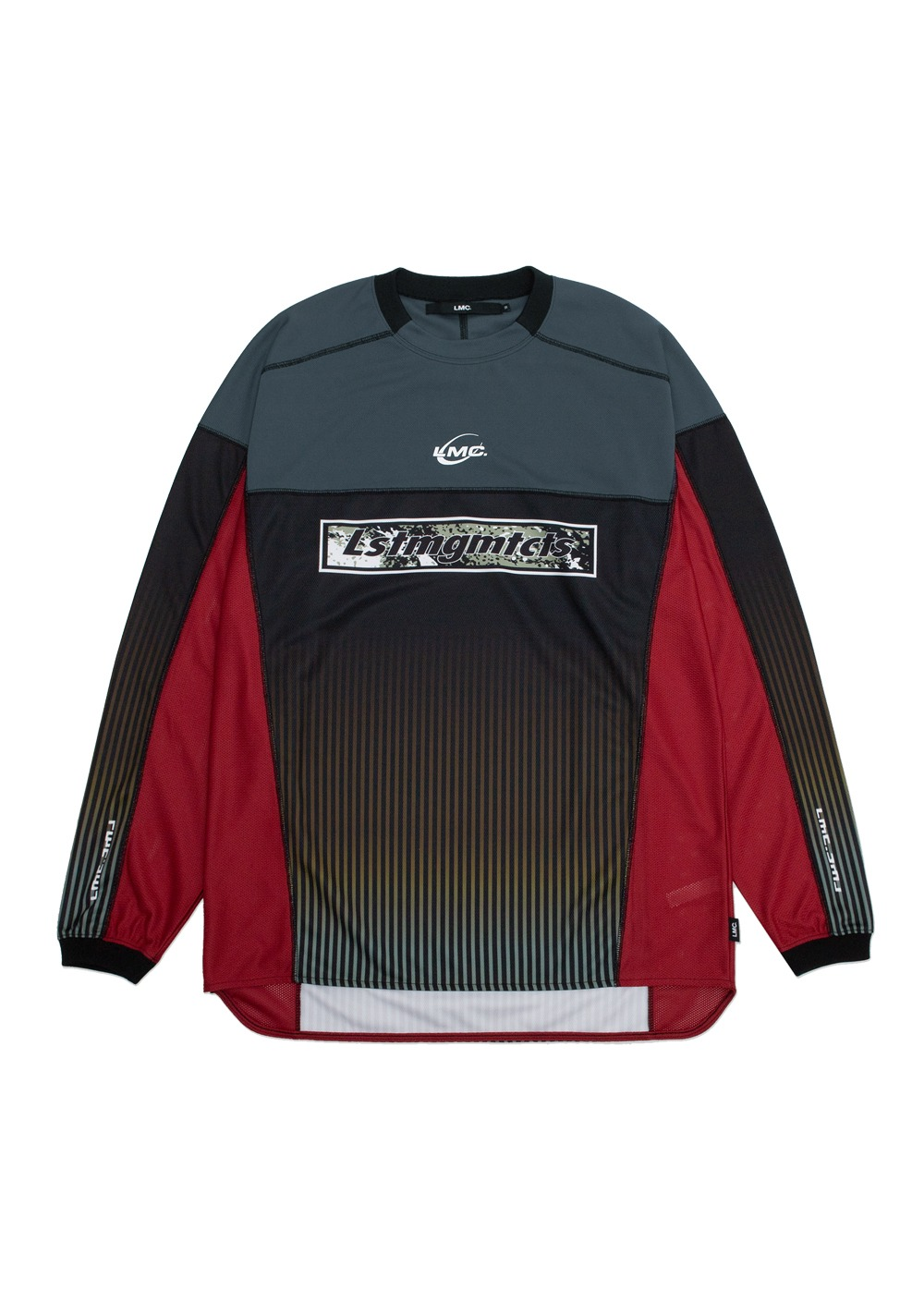 LMC GRADIENT LONG SLV JERSEY black