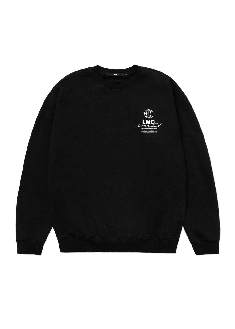 LMC SIGNATURE GLOBE SWEATSHIRT black