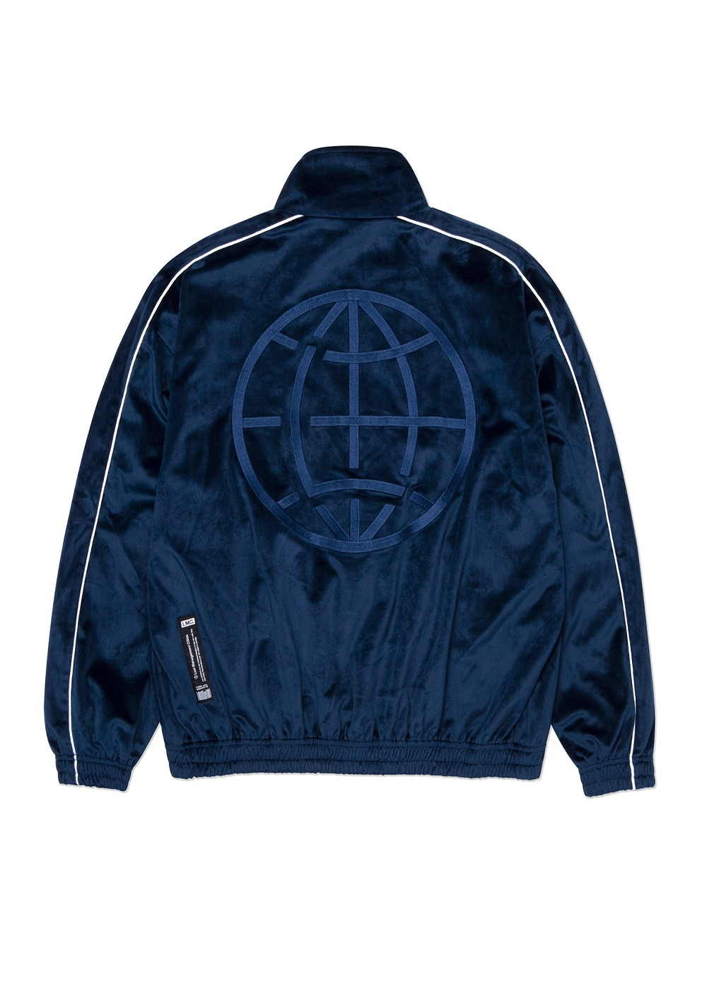 LMC VELOUR TRACK TOP navy