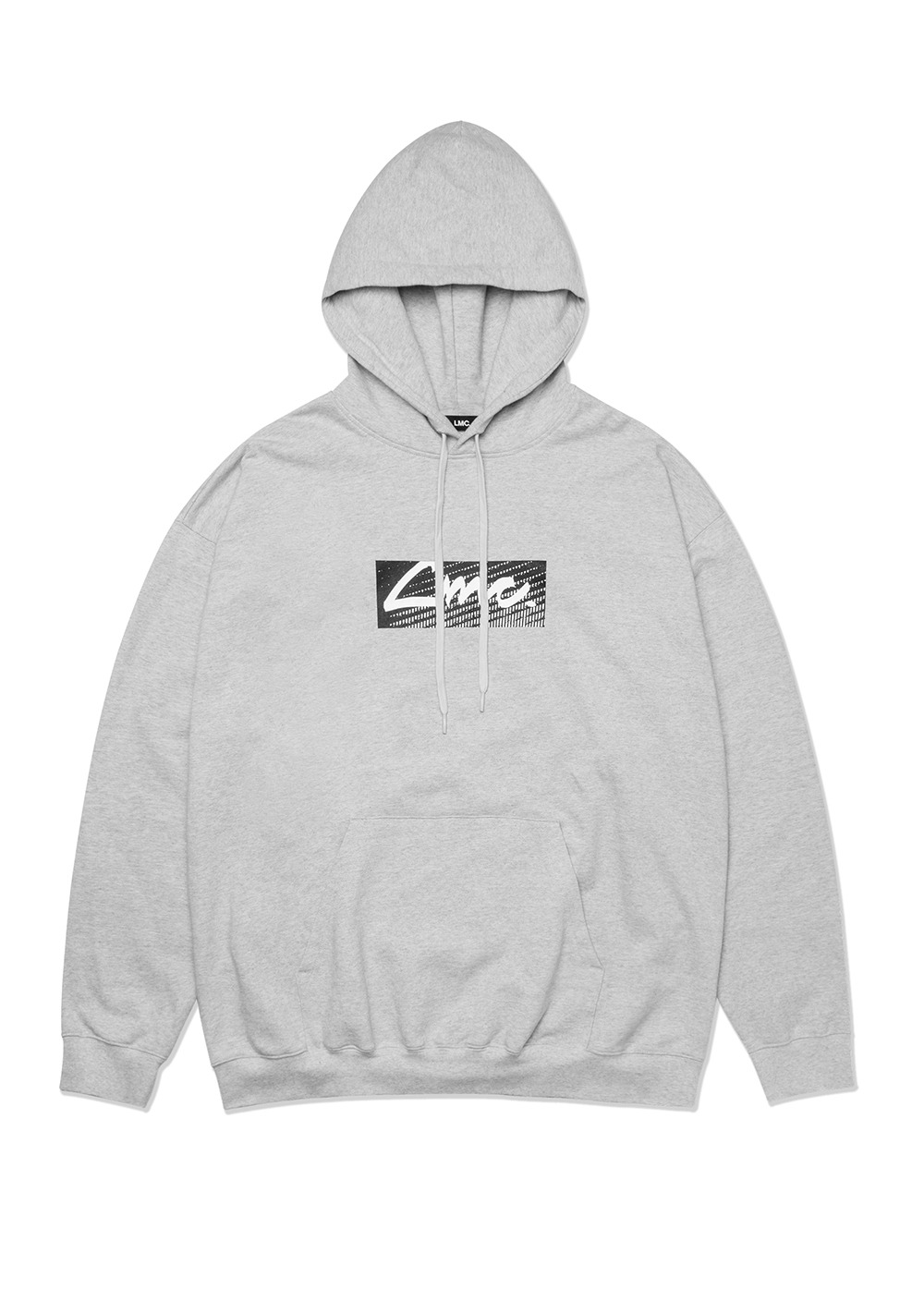 LMC D-NOISE OVERSIZED HOODIE heather gray