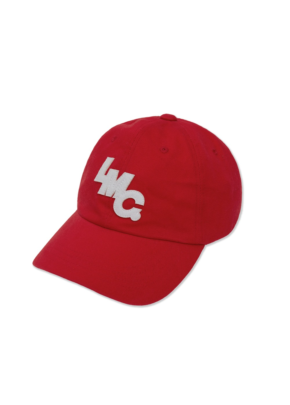 LMC MASS 6 PANEL CAP red