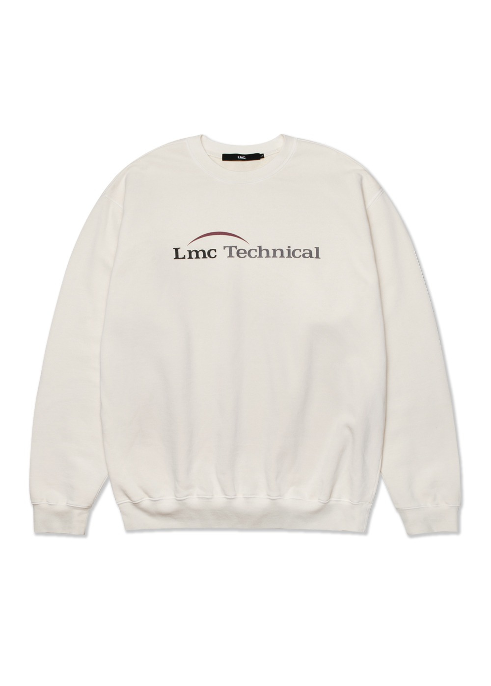 LMC OVERDYED TECHNICAL SWEATSHIRT cream