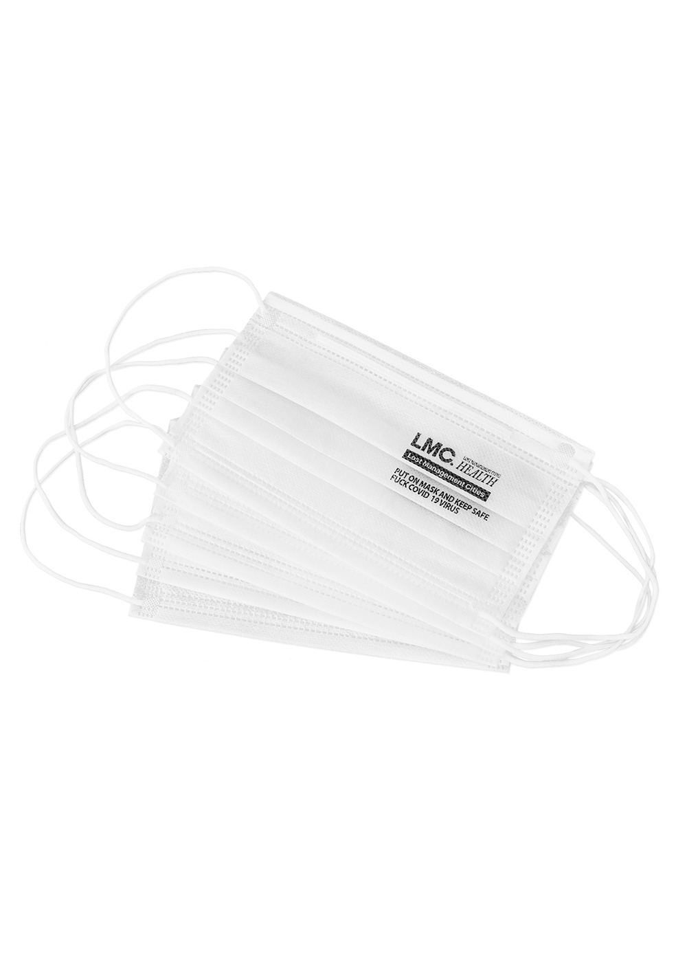 LMC HEALTH DISPOSABLE MASK white