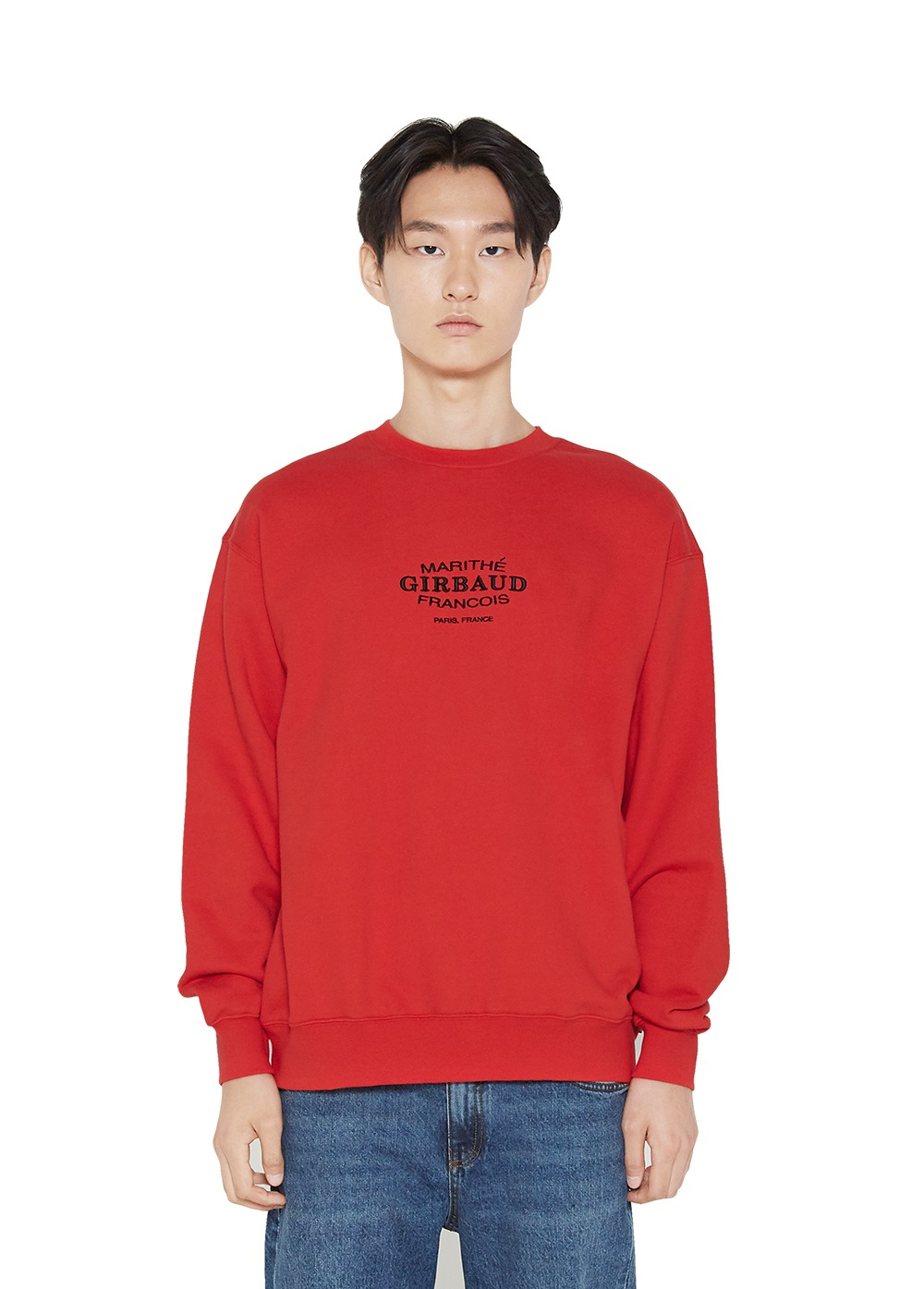 MFG OVAL LOGO SWEATSHIRT red
