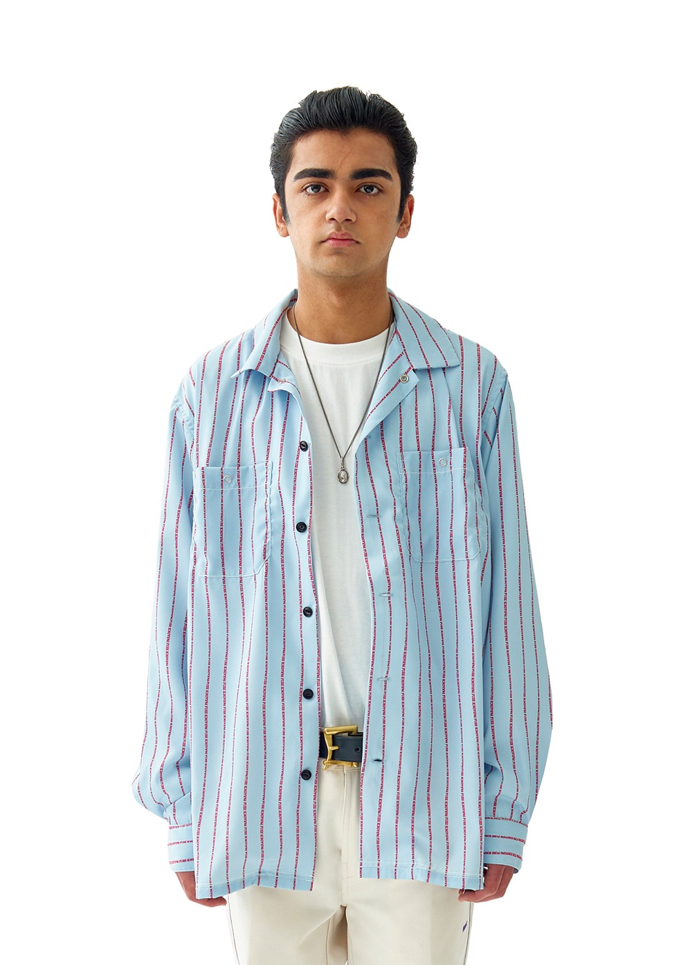 FUZZ WORK SHIRT sky blue