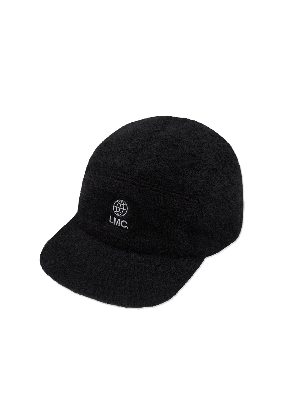 LMC FAUX FUR CAMP CAP black