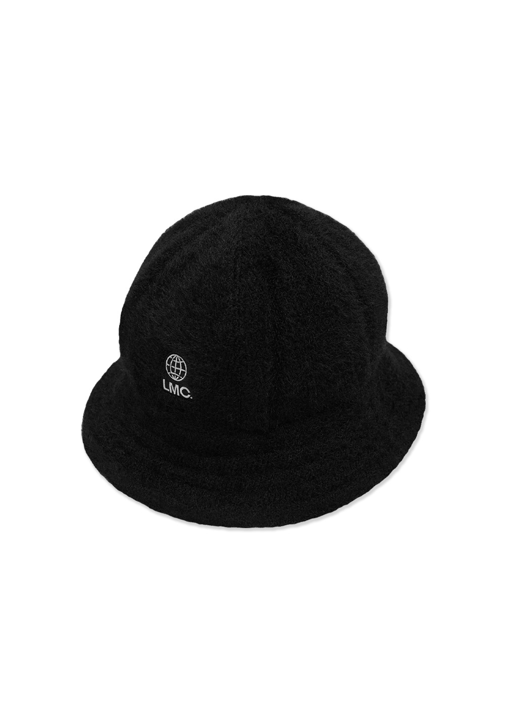 LMC FAUX FUR BELL BUCKET HAT black