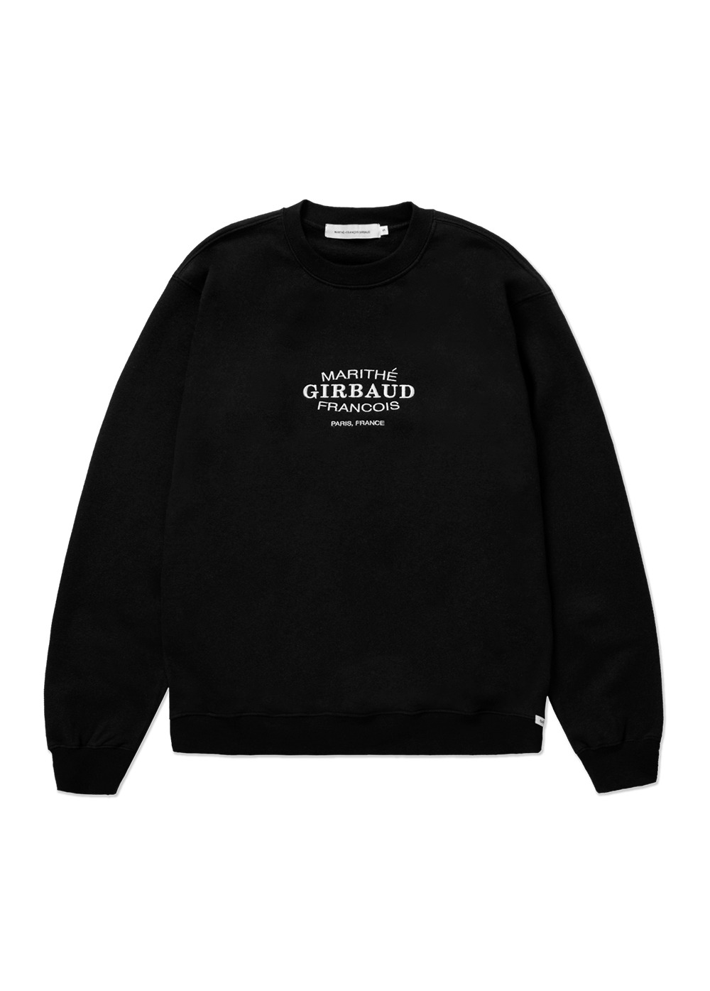 MFG OVAL LOGO SWEATSHIRT black