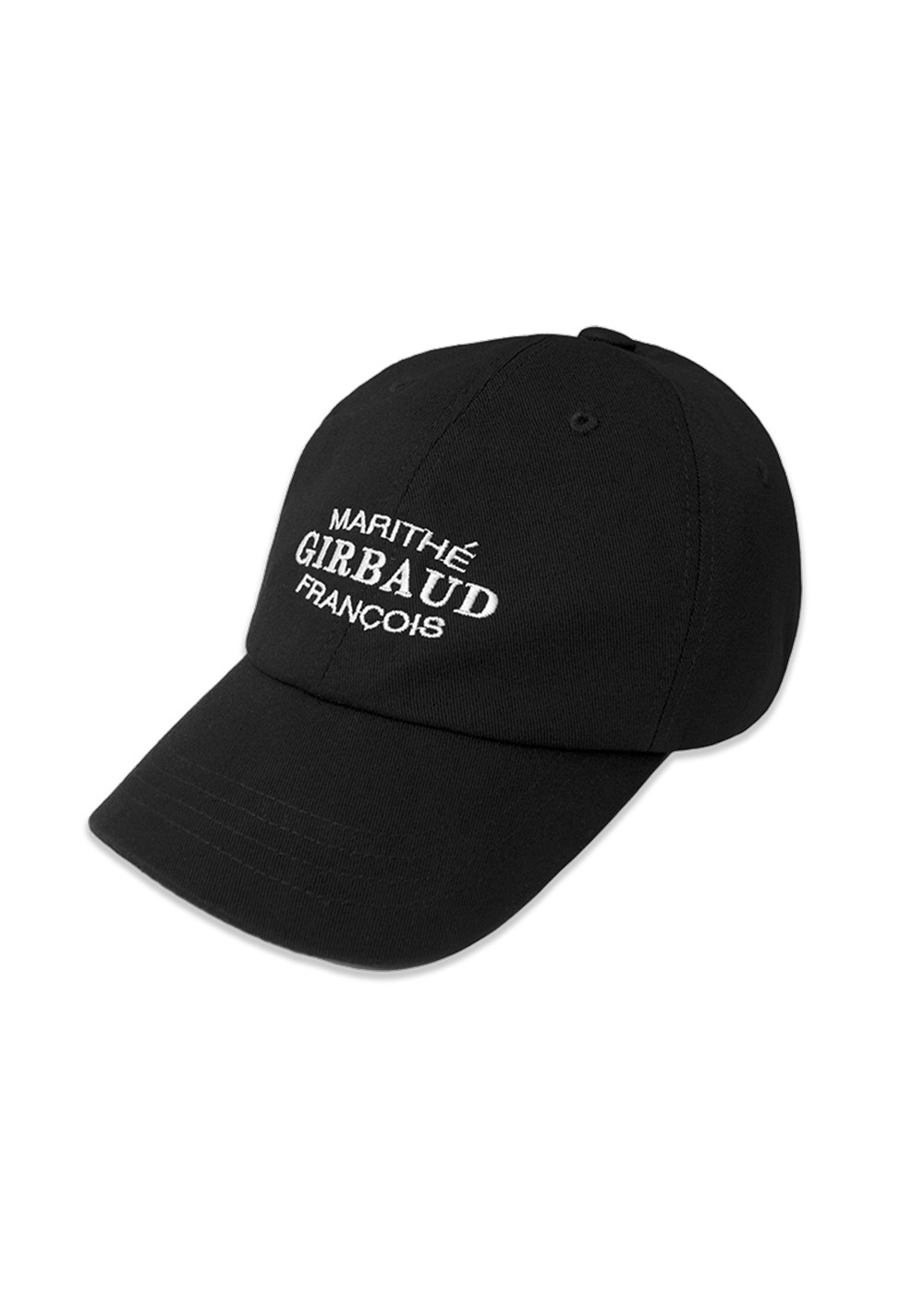 MFG OVAL LOGO CAP black