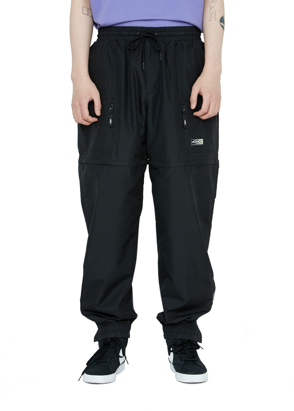 LMC ACTIVE GEAR TRANSFORM PANTS black