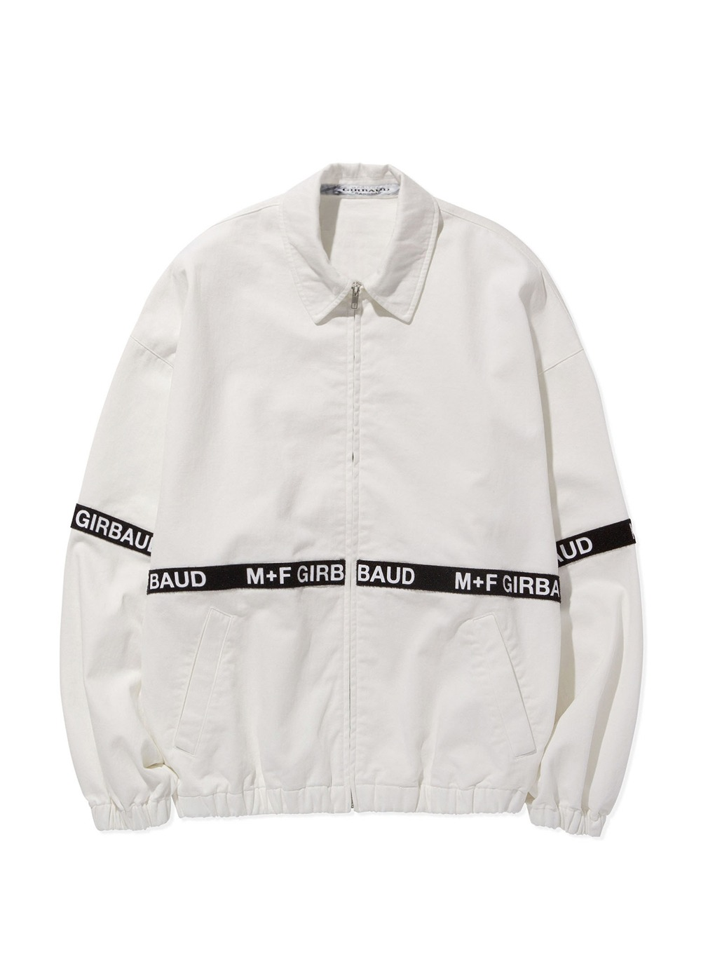 MARITHE SHUTTLE TAPE JACKET off white