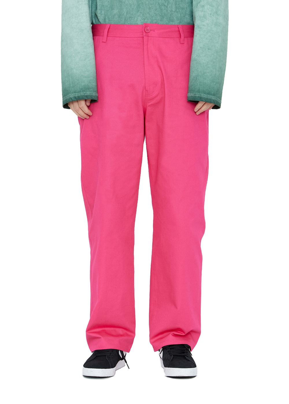 LMC DESCRIPTION WORK PANTS pink