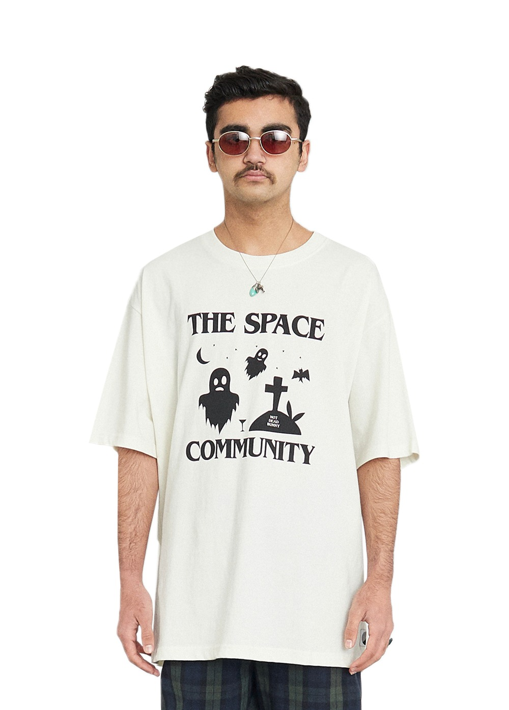 FUZZ NOT DEAD BUNNY S/S TEE cream