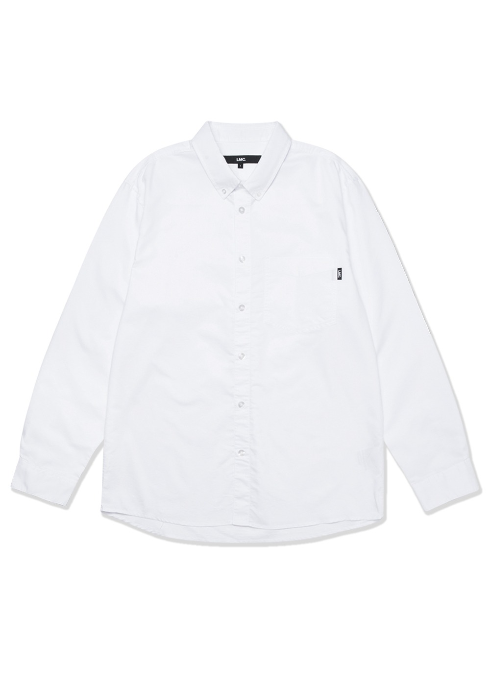 LMC OXFORD BASIC SHIRT white
