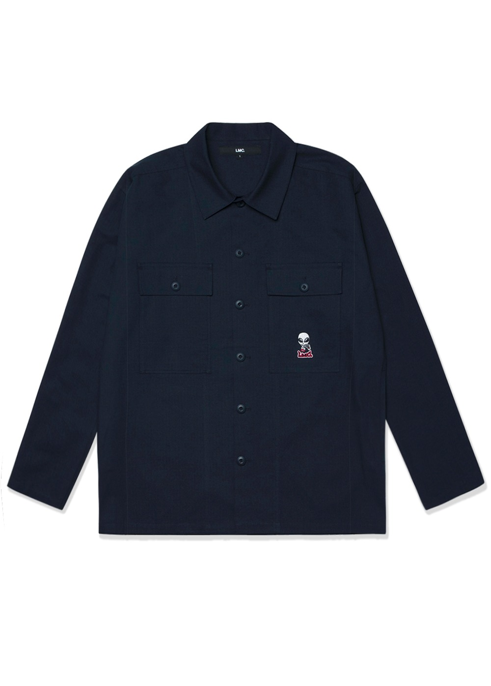 LMC RIPSTOP FATIGUE SHIRT navy