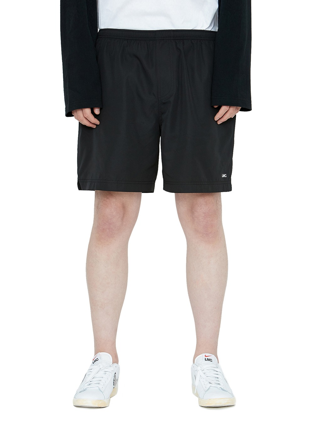 LMC IDEAL TRACK SHORTS black
