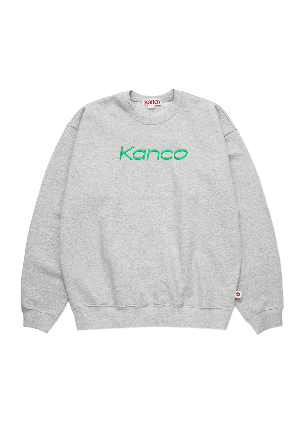 KANCO SERIF SWEATSHIRT heather gray