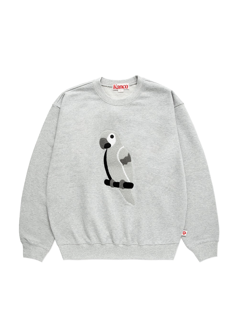 KANCO FULL LOGO SWEATSHIRT heather gray