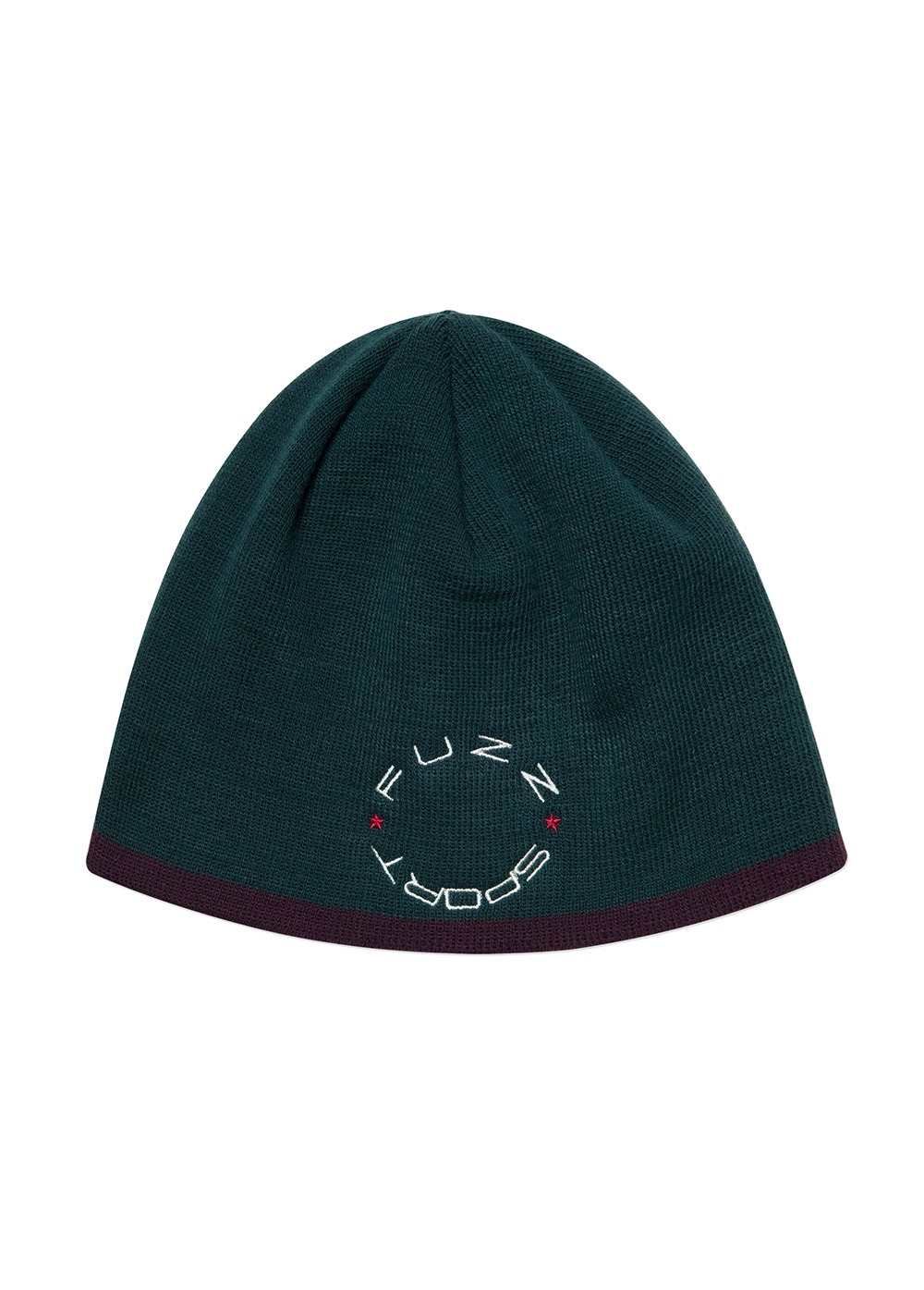 FUZZ UNDER LINE SHORT BEANIE green