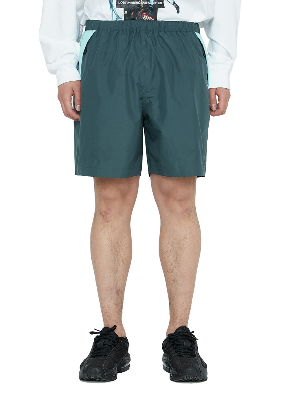 LMC BMD TRACK SHORTS teal
