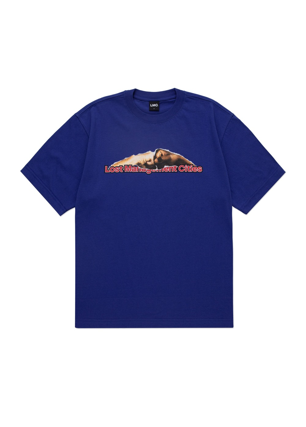 LMC FIST BUMPS TEE royal blue