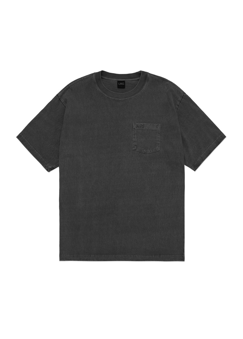 LMC OVERDYED OG POCKET TEE black