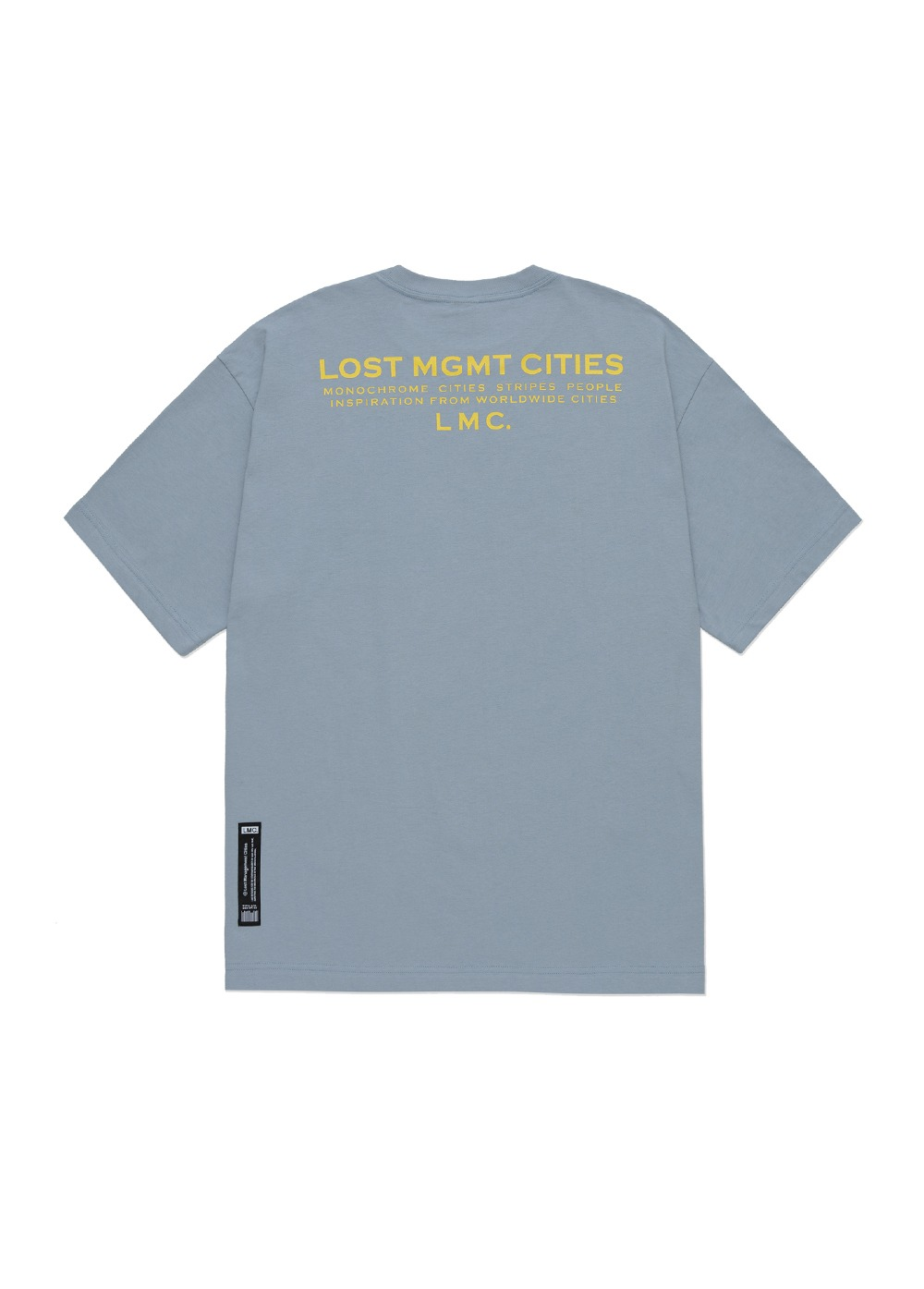 LMC INSPIRATION TEE blue gray