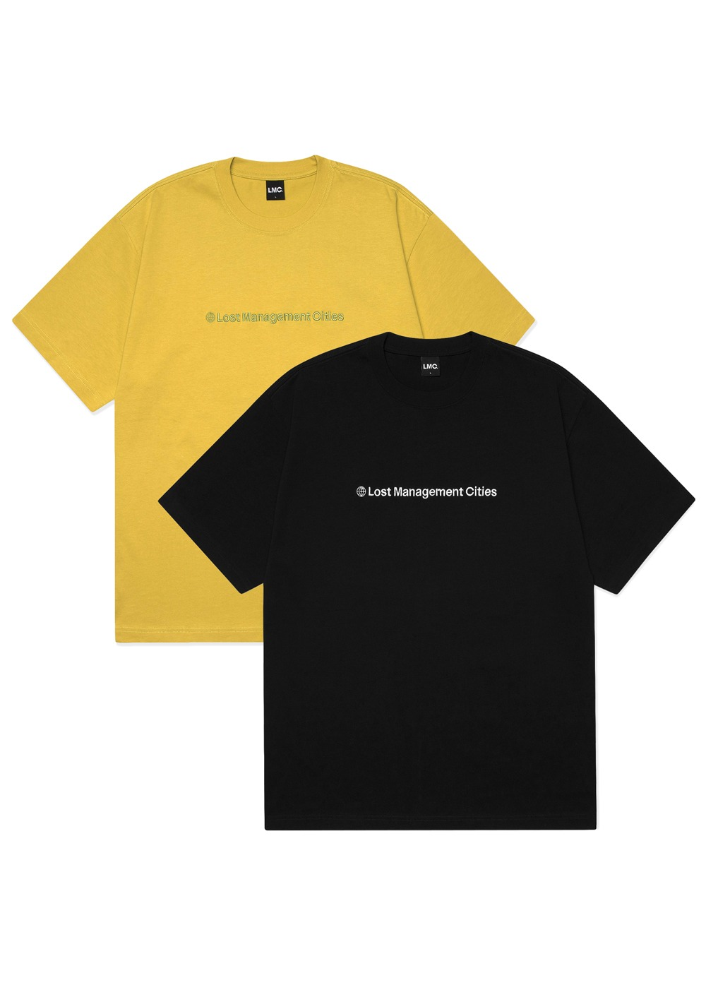 LMC BASIC FN TEE 2PACK black/mustard